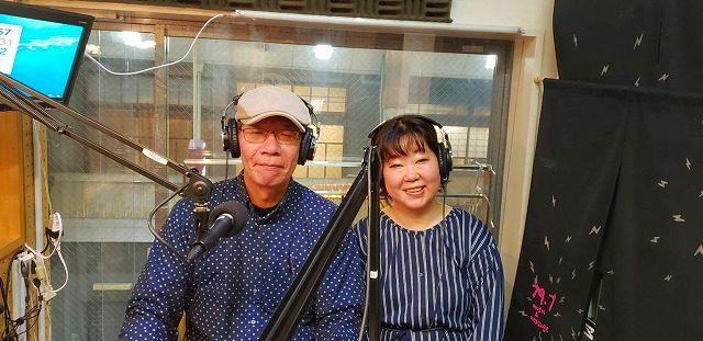 京都三条 ラジオカフェ FM79.7「紋天・竹麿の音楽交遊録」に出演致しました。